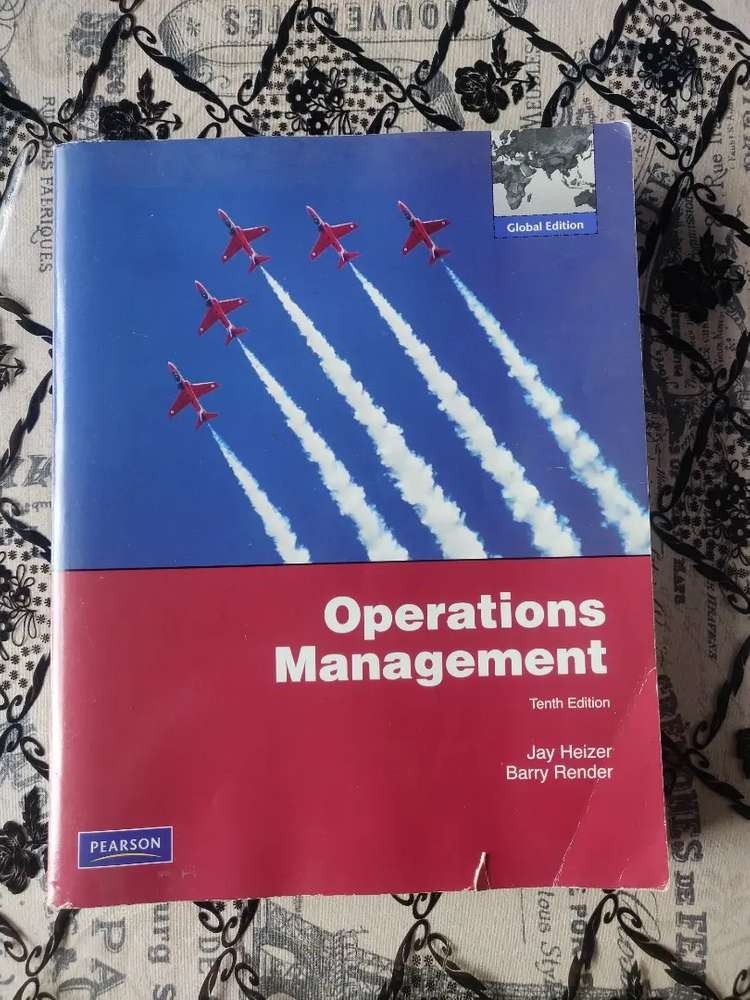 Operations Management 10th Edition Books Cds Dvds 1064719325