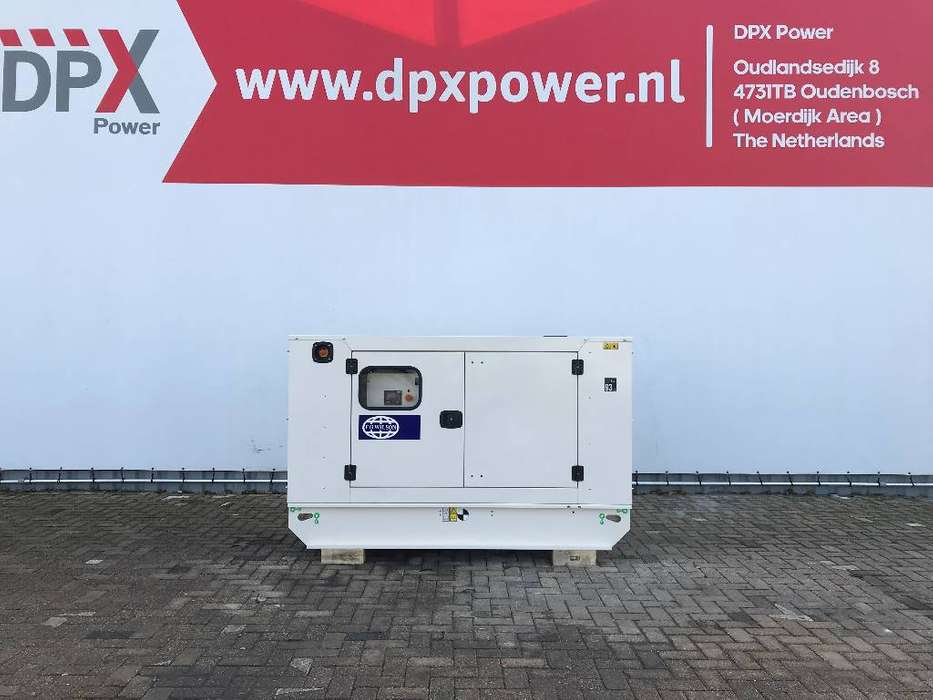 FG Wilson P50-3 - 50 kVA Generator - DPX-16004 - 2019