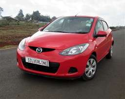mazda demio through asset finance