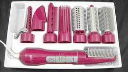 8 in 1 hairdressers curler and hand dryer