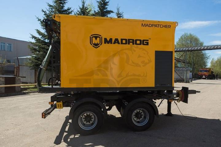 MADROG MPA 4.5W asphalt recycler