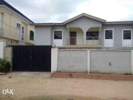 Distress Sales 2 wings of a 4 bedroom duplex with a room bq at Isolo