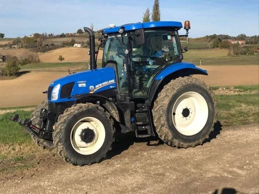 New Holland T6.140 Auto Command - 2015