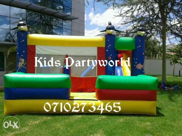 Bouncing castle,bouncy castles,trampolines,jumping trampoline for hire Westlands - image 8