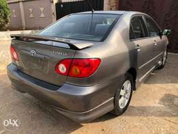 2003 Toyota corolla sports edition.. Toks. Accident free