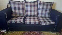 X-mass offer!! Buy 5 seaters sofa plus fridge both in good condition.