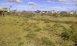 Land for sale in Salgaa touching tarmac