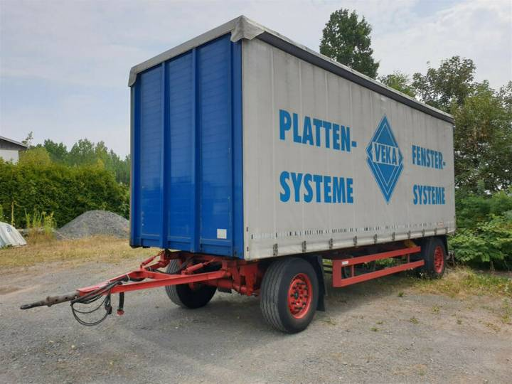 Schmitz Cargobull AFG 18 Drehschemel-Curtainside gepflegt 1.Hand - 2011