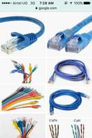Ethernet cables and wireless rauters