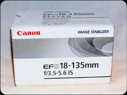 Canon EFS 18-135mm f:3.5-5.6 IS Zoom Lens (Brand new in box)