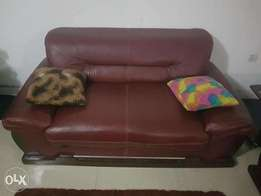 Brown Leather chair for living room