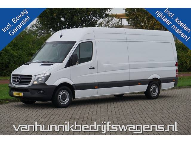 Mercedes-Benz Sprinter 316 CDI L3 H2 Airco, Cruise, Camera, Gev. Stoel ... - 2016