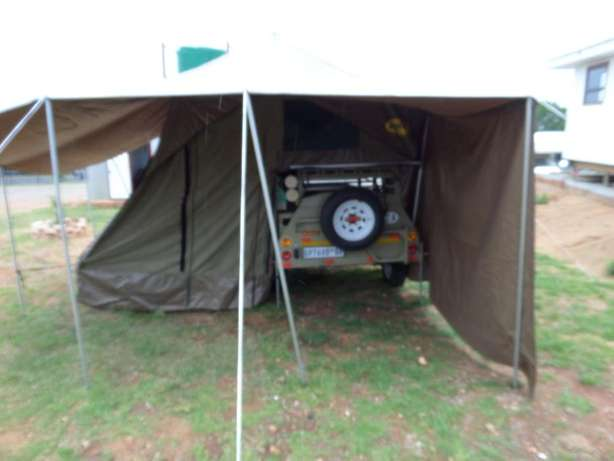 venter bush baby trailer, with tent Roodepoort - image 4