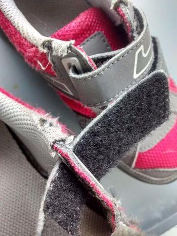 4388ae98 Niskie buty trekingowe Quechua / Decathlon szaro-różowe, rozm. 28 Warszawa  - image