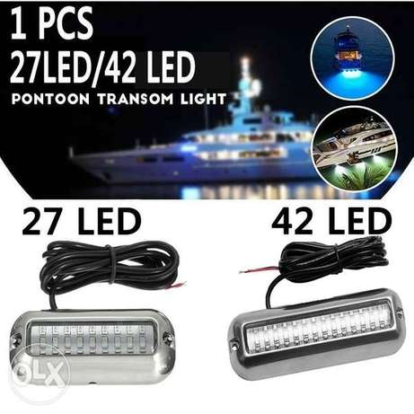 Boat Transom Light Underwater Pontoon Boat Transom Light Waterproof 31
