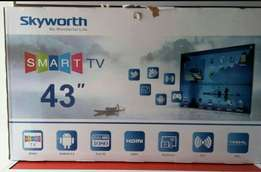 "New 43"" skyworth smart led digital tv"