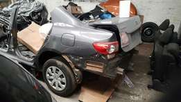2010 to 2015 Toyota corolla 1.3 stripping for spares