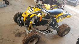 Can am ds450 rotex motor