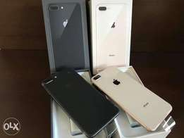 New IPhone 8 256GB (Gold and Black)