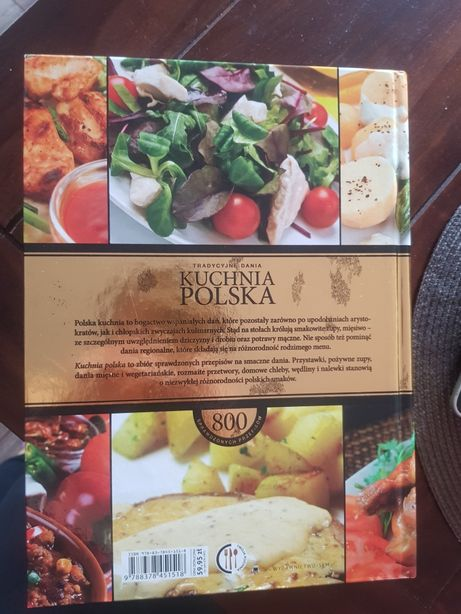 Kuchnia Polska Wielka Księga 450 Stron Super Stan Gdańsk