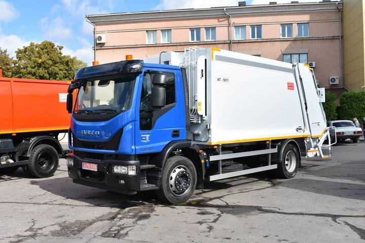 Iveco New AT-5011 na shassi  Eurocargo ML180E25 garbage truck - 2019