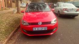 2014 polo 6 1,4 Colour Red