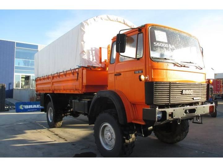 Magirus 168M11FAL (Iveco 110-16)-Service Truck (ref:e38301) - 1984