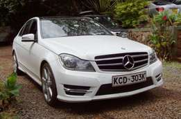 2014 Mercedes C250 CDI, auto 2.2L turbo diesel, 'as new'