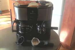 Russell Hobbs Espresso and Cappuccino coffee machine