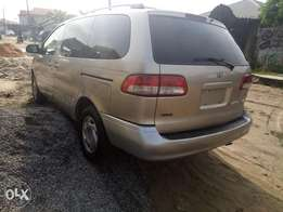 Used for a year but not registerd Toyota Sienna 2002