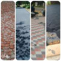 Tar surfaces asphalt and paving