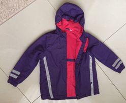 Курточка для дівчинки весна фіолетова куртка для девочки деми р.128 f1ce971304d85