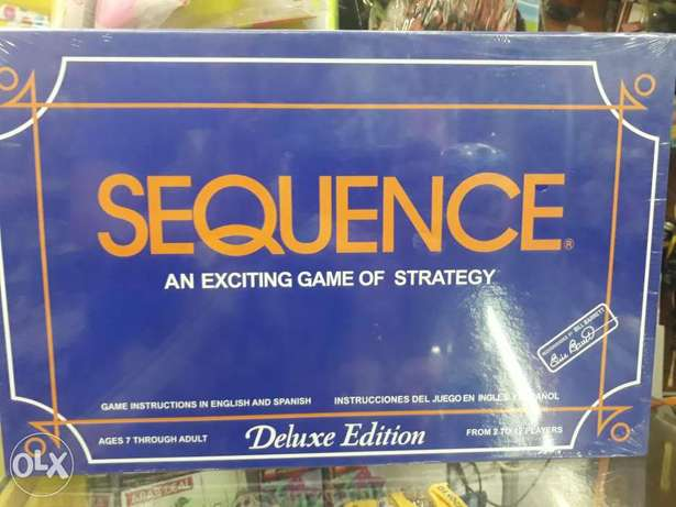 Secquence an exciting game for kid toys