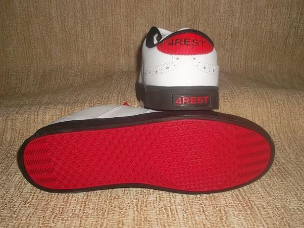 f2844125 Стильные кожаные кроссовки скейтера: 440 грн. - Мужская обувь ...