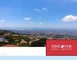 Panoramic sea view apartment for sale in Beit Mery ( Cash deal)