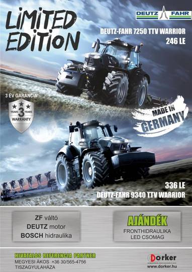 Deutz-fahr 7250ttv Warrior - 2018