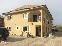 Detached 4bedroom duplex with 2rooms BQ to let in Thomas Estate