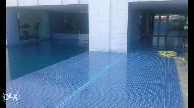 Salmiya, Flat 2 master bedrooms in very class blg with pool and gym