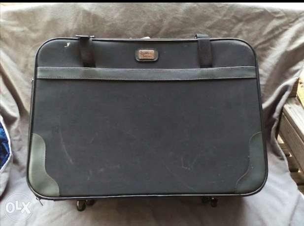Five ports vintage luggage