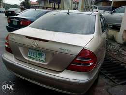 4matic Mercedes Benz 2003