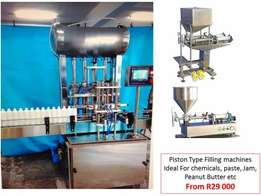 Detergent Bottle filling machines New! 3D Packing and Filling(PTY)LTD