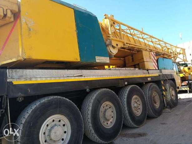 Cranes and Trailers Are Available for Doqm Seaport On and Off Load