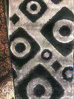 ash and black fluffy center rugs 3 by 5