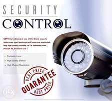 CCTV camera sales and installation