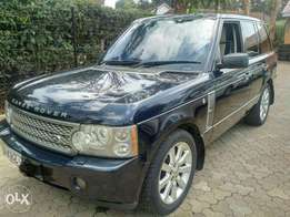 Range rover 2007 supercharged fully-loaded with sunroof petrol