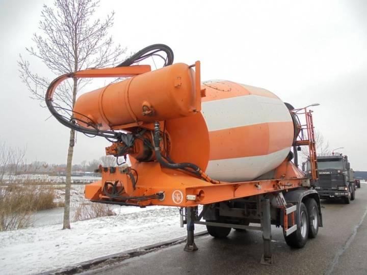 Prestel 2-axle Mixer / 10.000 L / Bpw Axles - 2000