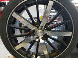 18inch mags rims n tyres for sale new