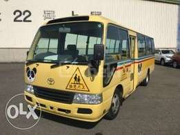 Toyota Coaster bus in Nairobi