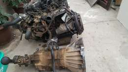 Toyota Hilux 2.4 Diesel complete engine and gearbox