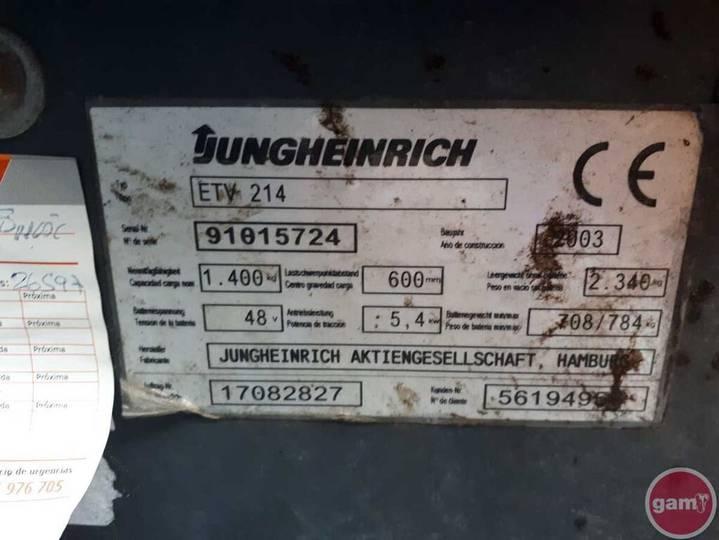 Jungheinrich ETV 214 - 2003 - image 11